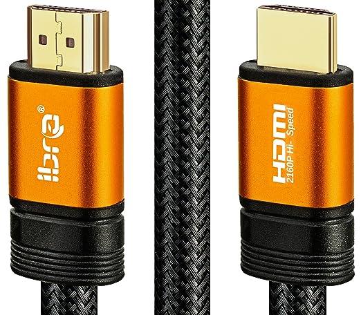 86 opinioni per IBRA- 2m Cavo HDMI- Pro Arancia cavo HDMI 2.0 | Alta velocita con Ethernet | 3D
