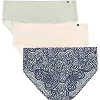 Lucky Brand Women's Micro Hipster Panties Multi Pack, 5PK