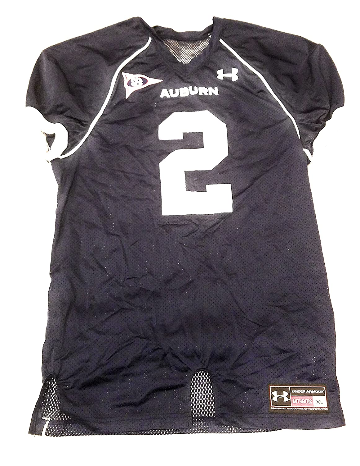 Amazon.com  Under Armour Mens XL Cam Newton Auburn Tigers Screen Print  Football Jersey  Clothing 0828df254