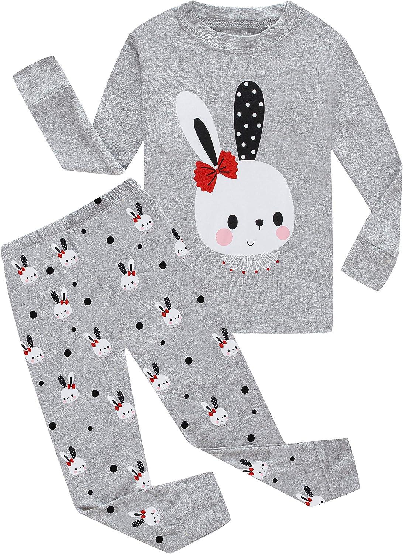 Little Big Girls Pajamas Set Kids PJs 100/% Cotton Sleepwear