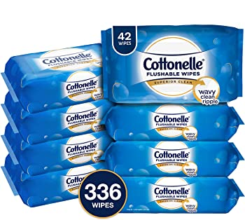 42-Count Cottonelle FreshCare Flushable Wipes