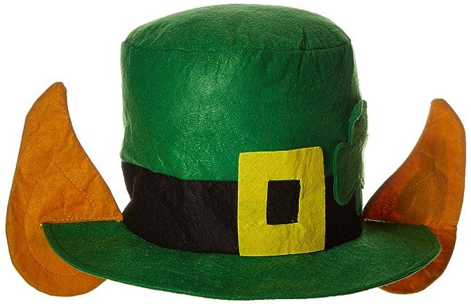 Amazon.com  Felt Leprechaun Hat w Ears Party Accessory (1 count) (1 Pkg)   Kitchen   Dining af4114a5898e