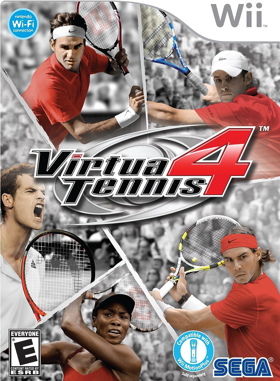 Amazon.com  Virtua Tennis 4 - Nintendo Wii  Sega  Video Games 40f29cf4f0922