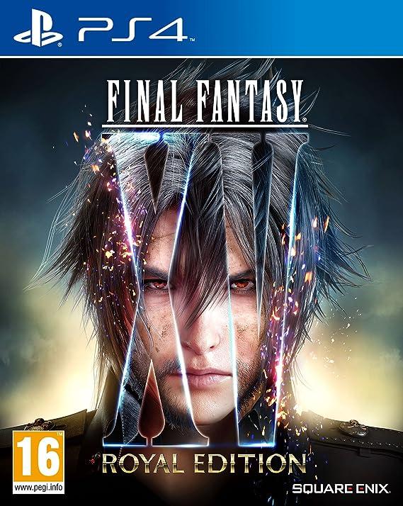 Final Fantasy XV, Royal Edition PS4: PlayStation 4: Amazon ...