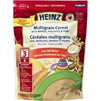 HEINZ Multigrain Cereal with Mango, Pineapple & Pear,  6 Pack, 227G Each