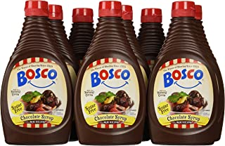 product image for Bosco Syrup, Sugar Free Chocolate, 18 Ounce (Pack of 12)
