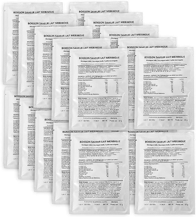 CALYFORM Batidos Proteínas para Adelgazar, Bebida Proteína en Polvo Dieta Proteica, Batido Leche Merengada - 20 Sobres