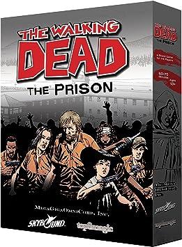 The Walking Dead The Prison Board Game: Amazon.es: Juguetes y juegos