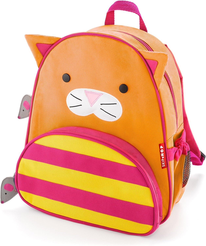 "Skip Hop Cat Toddler Backpack, 12"" School Bag, Multi"
