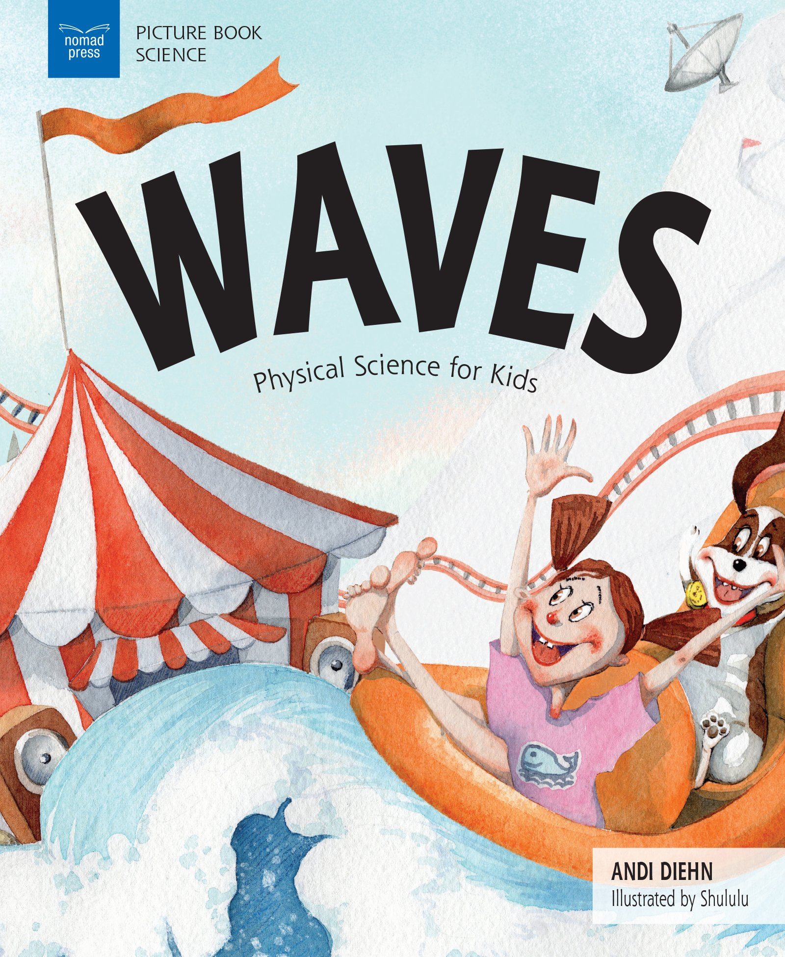 Waves: Physical Science for Kids (Picture Book Science) pdf epub