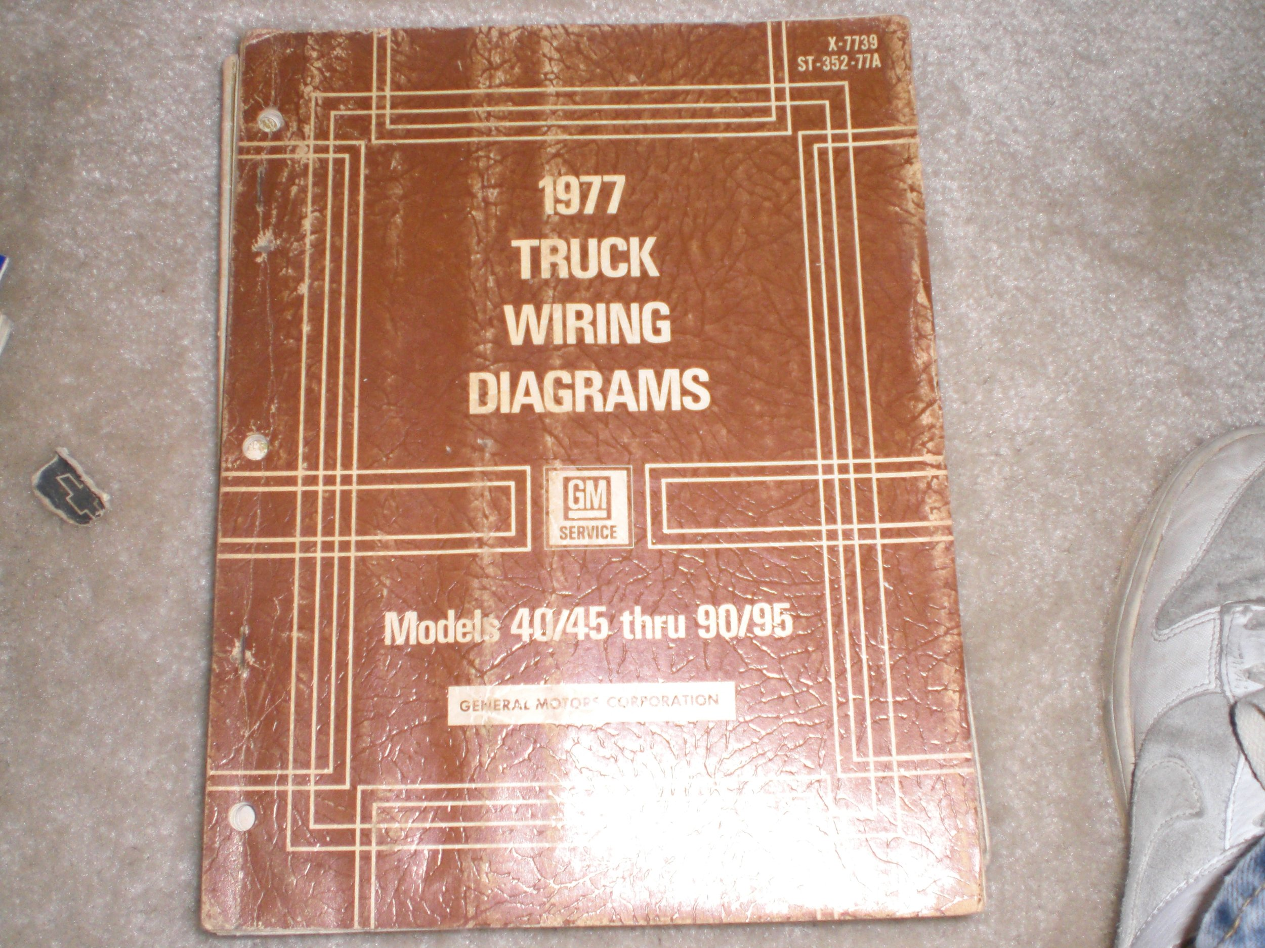 1977 gmc truck wiring diagrams for models 40/45 thru 90/95 paperback – 1977