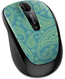 【Amazon.co.jp限定】マイクロソフト マウス ワイヤレス Wireless Mobile Mouse 3500 ペイズリー GMF-00426