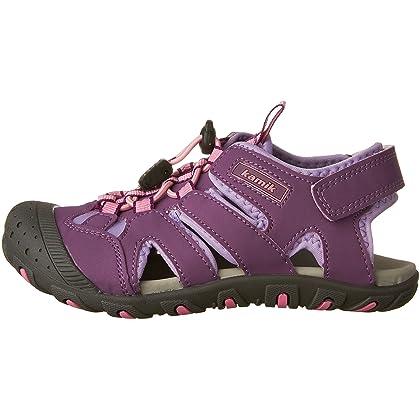 ecd79c9f9f50 ... Kamik Kids Girl s Oyster 2 (Toddler Little Kid Bid Kid) Purple Sandal  ...