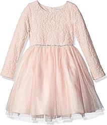 5496decdc3b Sweet Heart Rose Girls  Little Long Sleeve Lace Bodice Tutu Mesh Dress