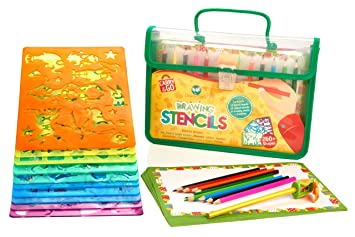 creativ craft large drawing stencils art set for kids loved by parents golden award - Kids Drawing Stencils