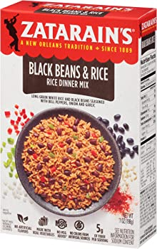 12-Pack Zatarain's 7oz Black Beans & Rice Rice Dinner Mix