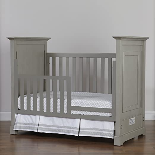 Amazon.com: Munire Chesapeake Classic Crib, Gris claro: Baby