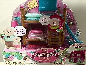 Lil Woodzeez Bunk Bed Bedroom Furniture Set