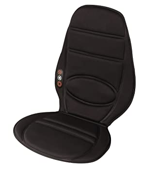 HoMedics Vibrating Massager Car Seat Massage Chair Cushion Vibration Pad Cover For Full Upper