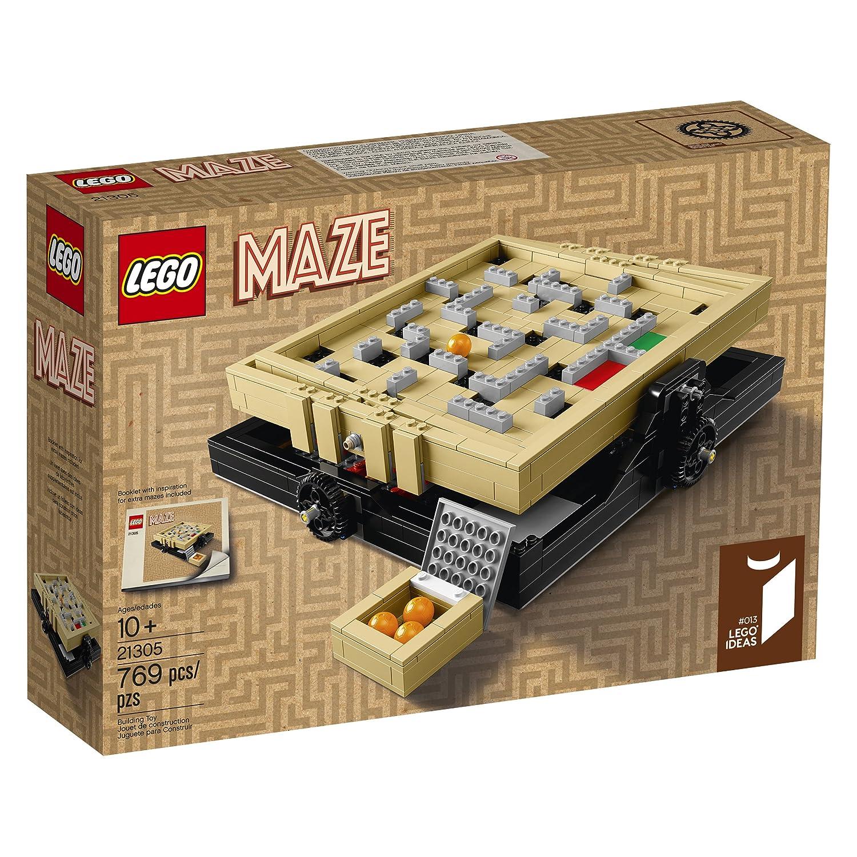 Amazon LEGO Ideas Maze Building Kit 769 Piece Toys