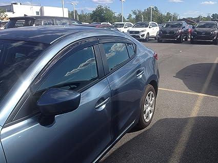 JSP Mazda 3 Sedan Hatchback Window Vent Visor Rain Guard Deflector 2014 2017  (