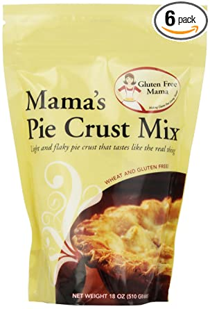 Sin Gluten de la Mama, Mama Pastel Corteza mezcla, 18 onza ...