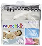 Munchkin Waterproof Changing Pad Liners, 6 Count