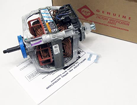 91J7tI7hfDL._SX463_ amazon com new replacement part dryer drive motor for whirlpool Whirlpool Dryer Electrical Schematic at edmiracle.co