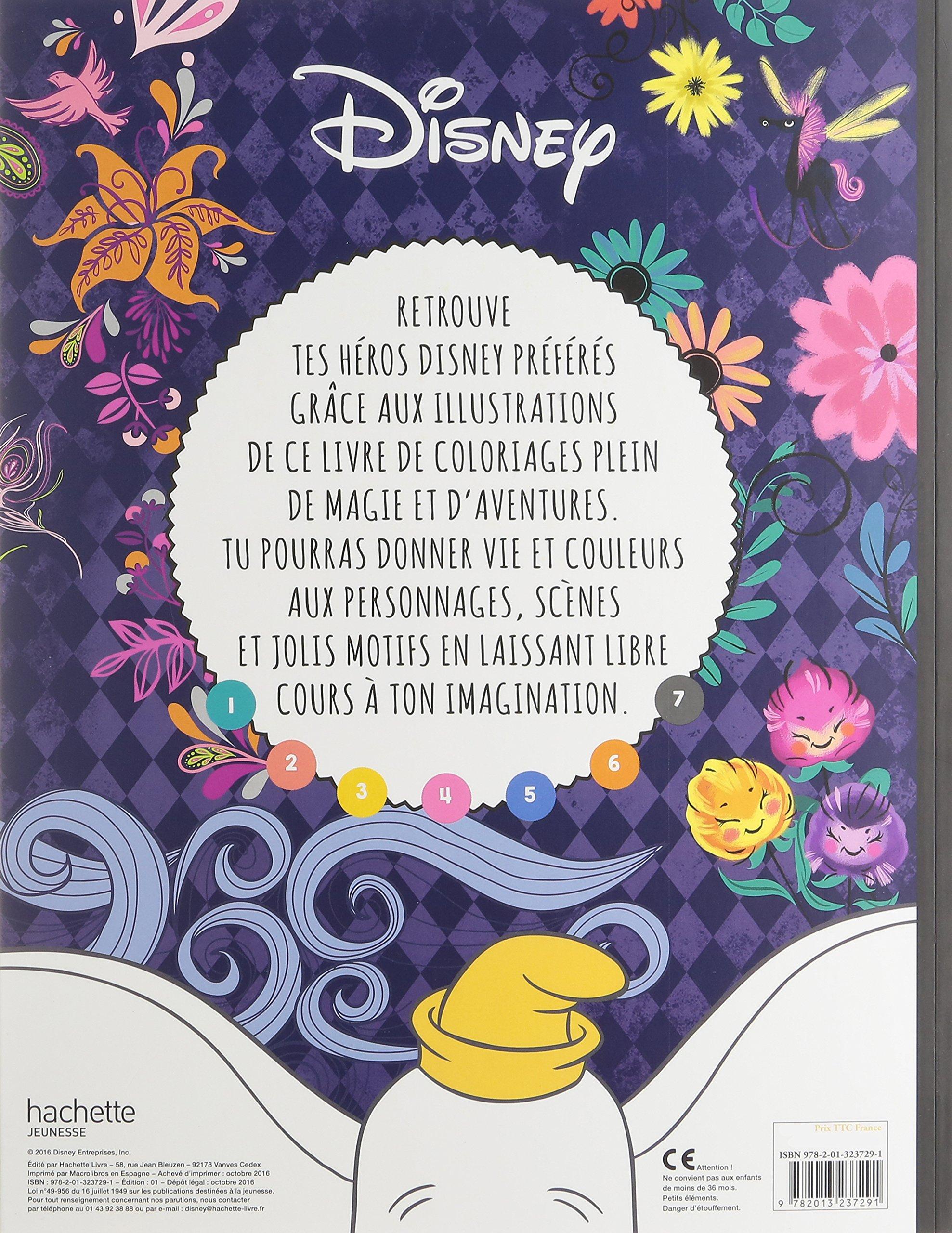 Disney Les Ateliers Grand Format Incroyables Coloriages French Edition Hachette Jeunesse 9782013237291 Amazon Com Books