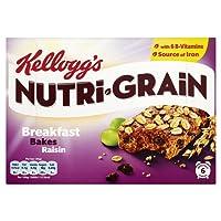 Kellogg's Nutri-Grain Breakfast Bakes Raisin, 6 x 45g