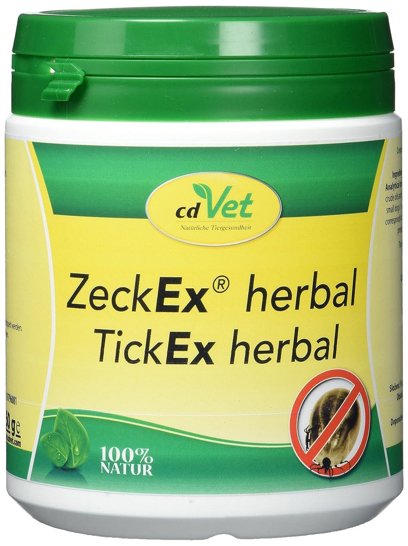 produits naturels à base de plantes cdVet ZeckEx 250 g 639