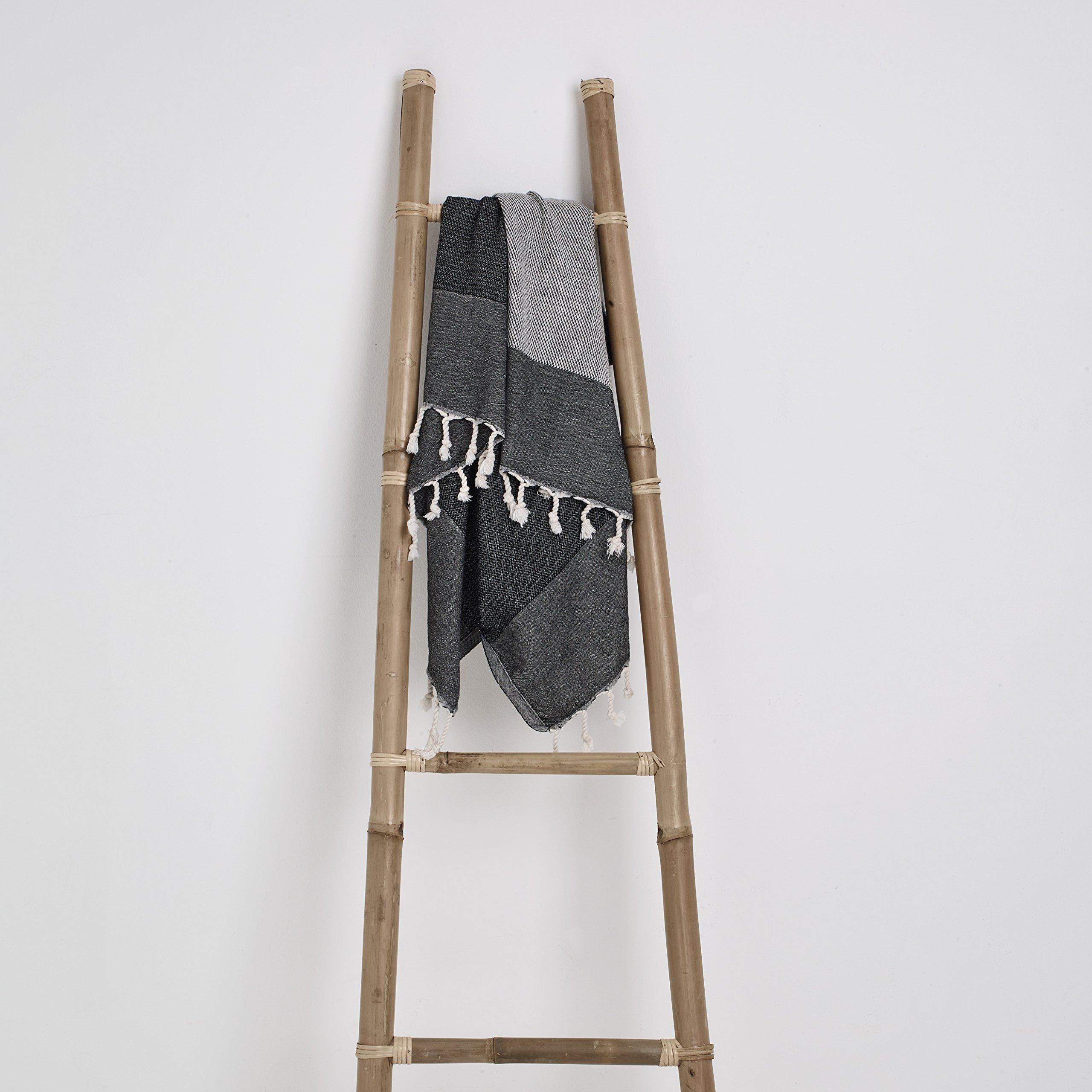Loom by Design Turkish Cotton Luxury Fouta Beach Towel Throw