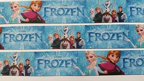 Nastro con motivo frozen da 22 mm nastro stampa cartone animato con
