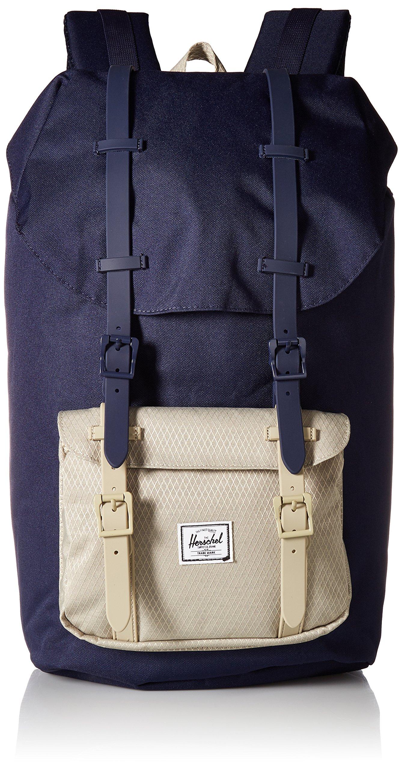 Herschel Supply Co. Little America Backpack, Peacoat/Eucalyptus, One Size