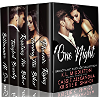 One Night (Bikers, Bad Boys, And Billionaires) Boxed Set (English Edition)