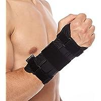 BraceUP Deluxe Wrist Stabilizer Support Brace with Aluminum Splint for Carpal Tunnel Arthritis