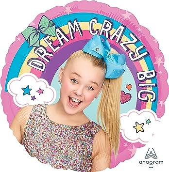 18 JoJo Siwa Birthday Party Foil Balloon Amazoncouk Toys Games