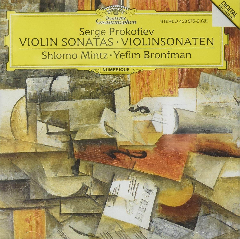 Prokofiev: Violin Sonatas 1 op.80 & 2 op.94a