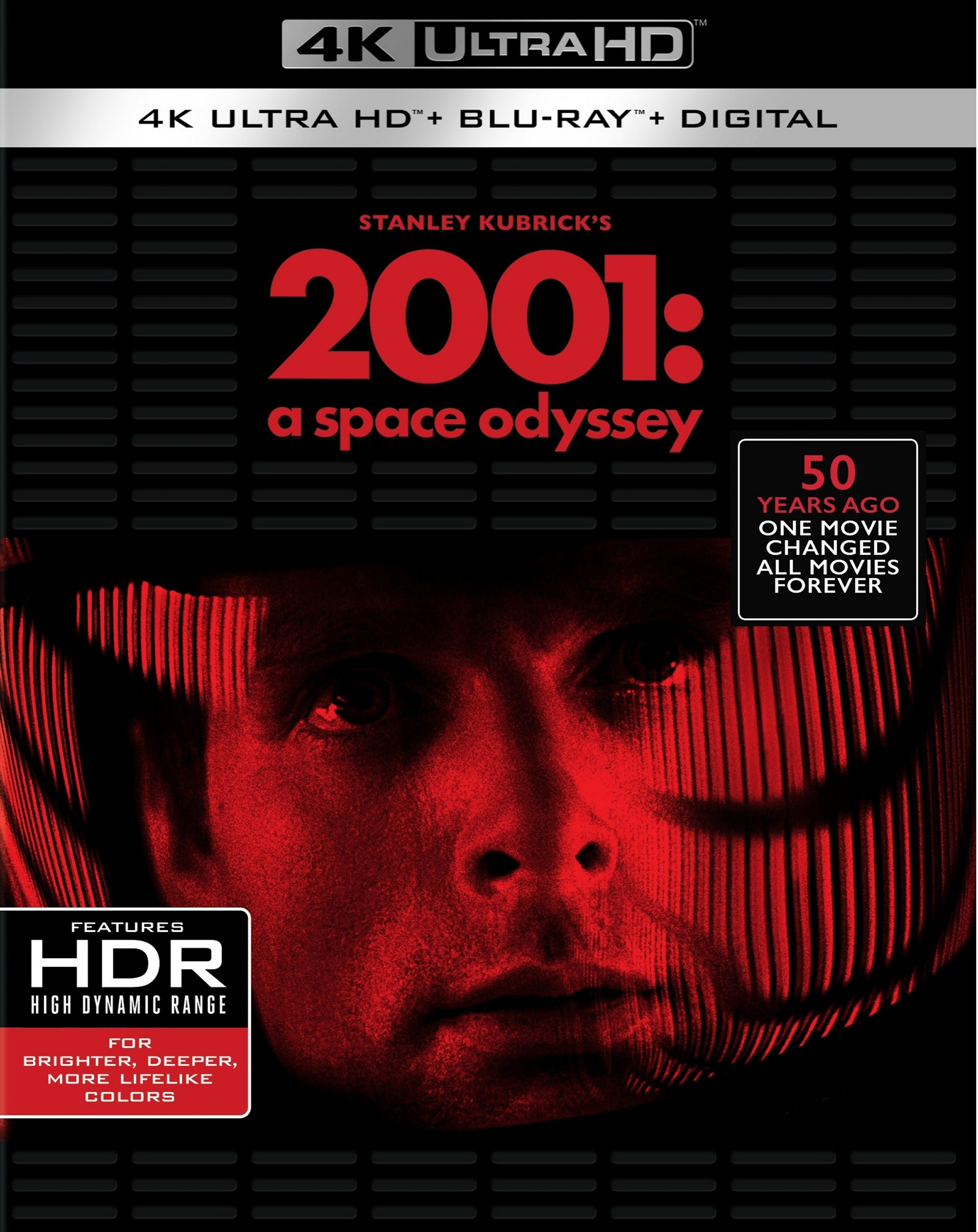 4K Blu-ray : 2001: A Space Odyssey (With Blu-ray, 4K Mastering, 3 Pack, Dolby, Digital Theater System)