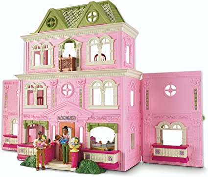 Fisher-Price Loving Family Grand Dollhouse (African-American Family): Amazon.ca: Baby