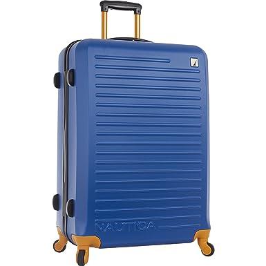 eba01657fff4 Nautica Ahoy Hardside Expandable 4-Wheeled Luggage-28 Inch Checked Size