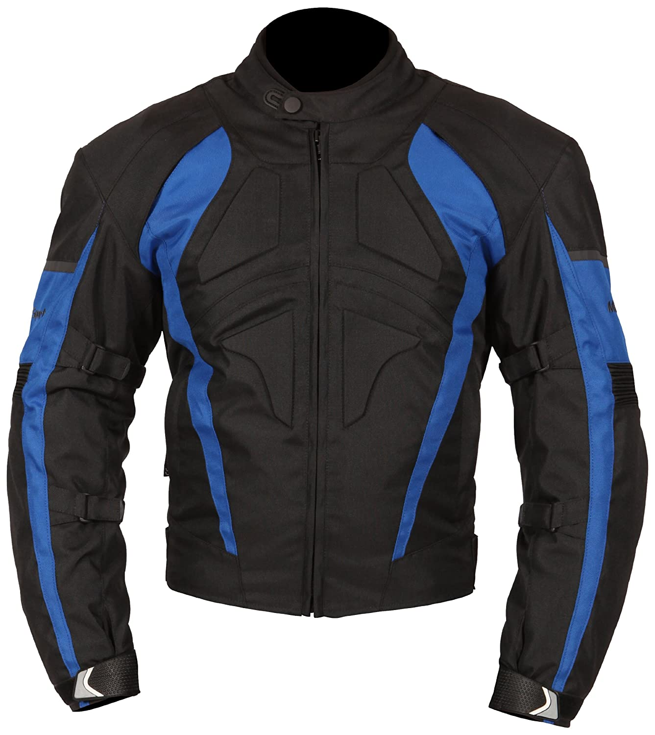 Milano Sport Gamma Motorcycle Jacket with Red Accent (Black, Medium) Fowlers MJGAM0385ME