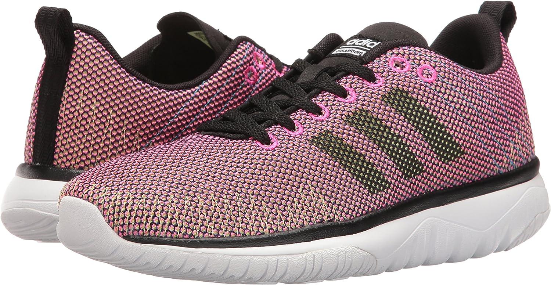 Adidas Women's Cloudfoam Super Flex w Running Shoe, Shock Pink ...