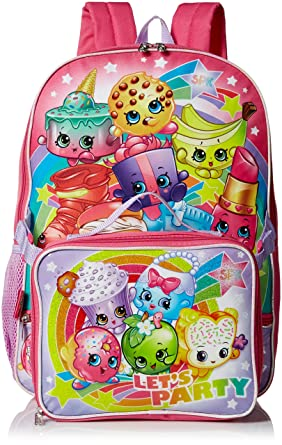 Shopkins Girls' Backpack with Lunch