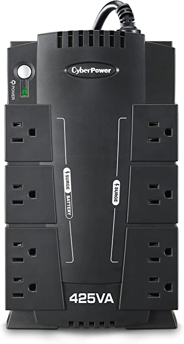 750VA Battery Back-Up System Black CyberPower