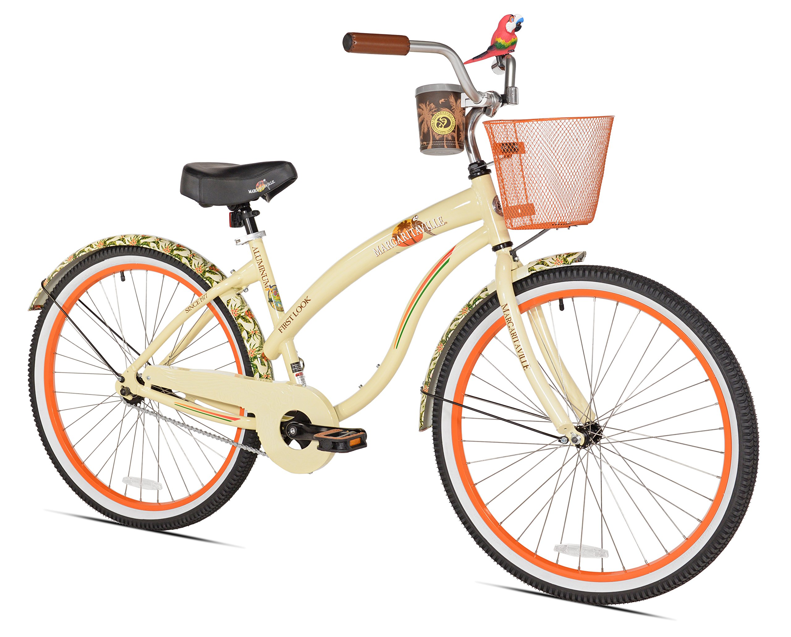 Margaritaville First Look Women's Beach Cruiser Bike, 26-Inch