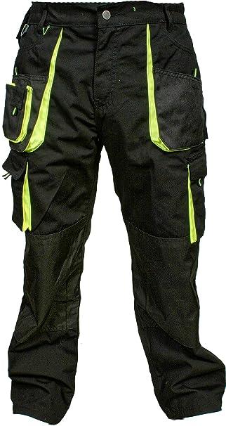 Juicy Trendz Uomo Pantaloni da Lavoro Indumenti da Lavoro Cordura  Multitasche Sicurezza i Pantaloni  Amazon.it  Abbigliamento 82f8633d535