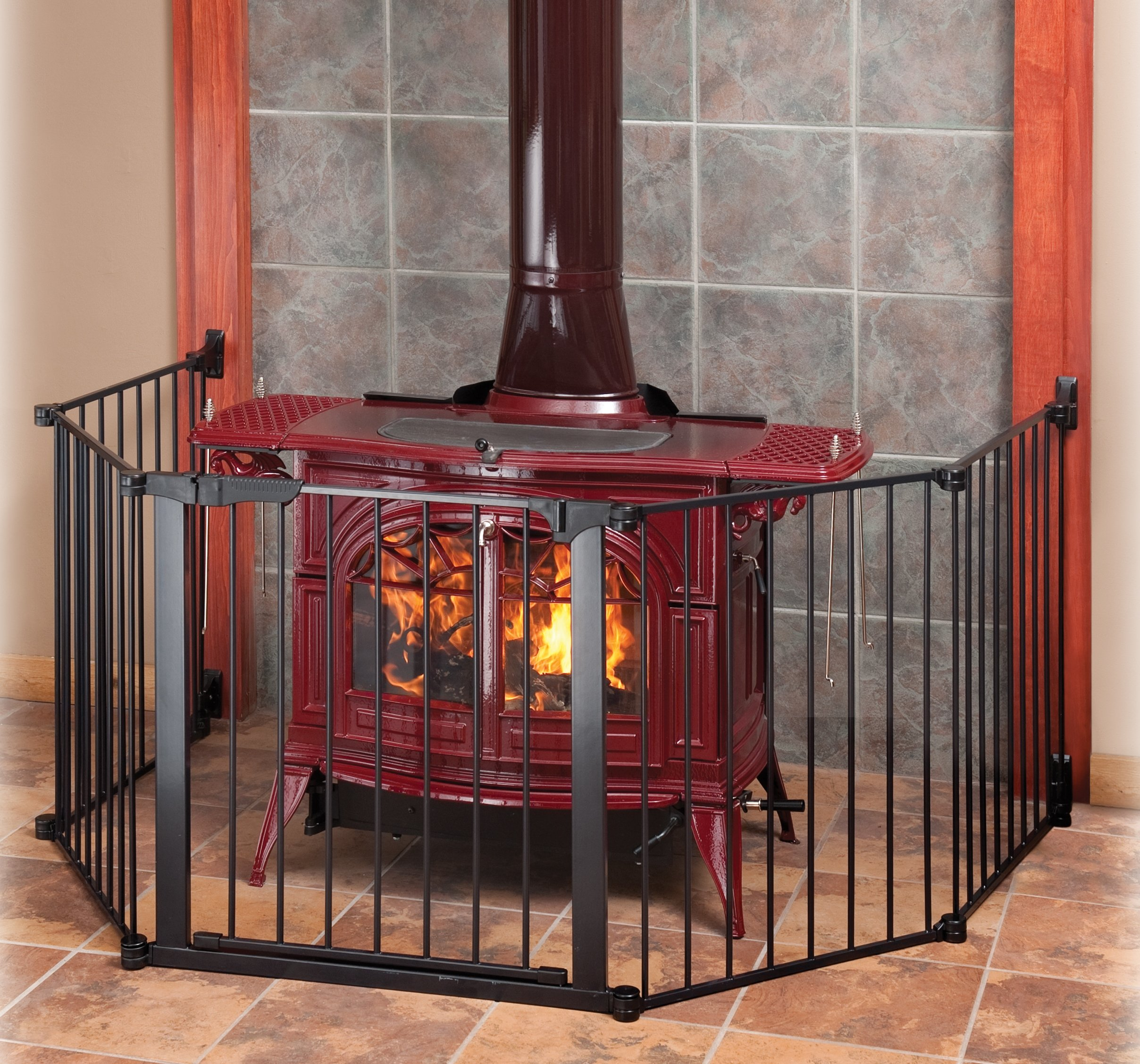 Auto Close HearthGate Pet Gate by KidCo (Image #3)