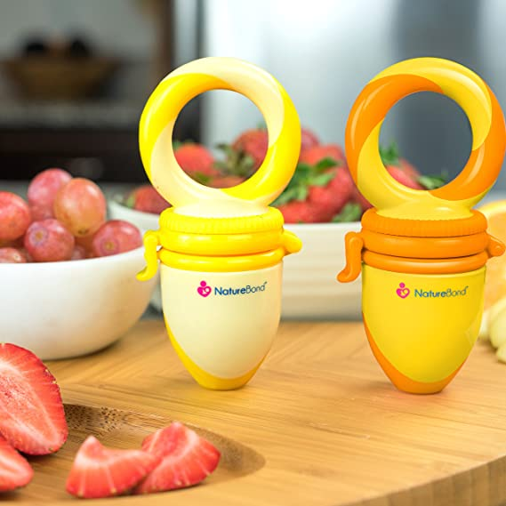 WO/_ SILICONE INFANT BABY FRUITS FEEDING PACIFIER BOTTLE DUMMY NIPPLE TEETHER FUN
