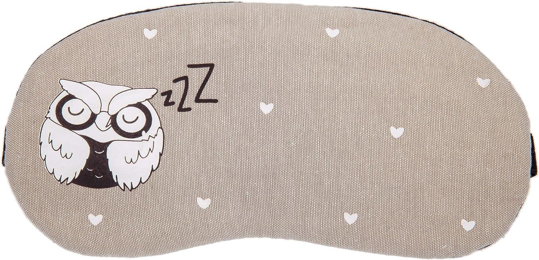 Grey Owl Plush Sleep Eye Masks Animal Mask Detachable Reusable Ice Pack Hot Cold Gel Compress For Tired Puffy Eyes Travel Sleeping Men Women Children Amazon Co Uk Health Personal Care